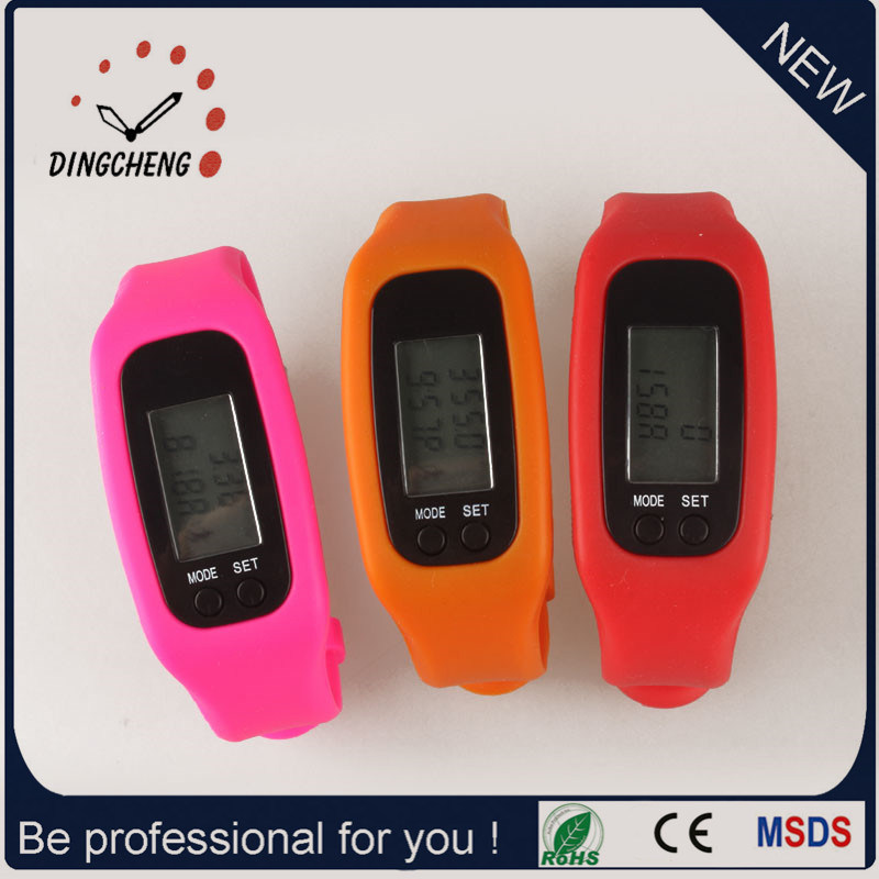 Smart Pedometer Watch Sport Watches Promotion Bracelet (DC-001) pictures & photos