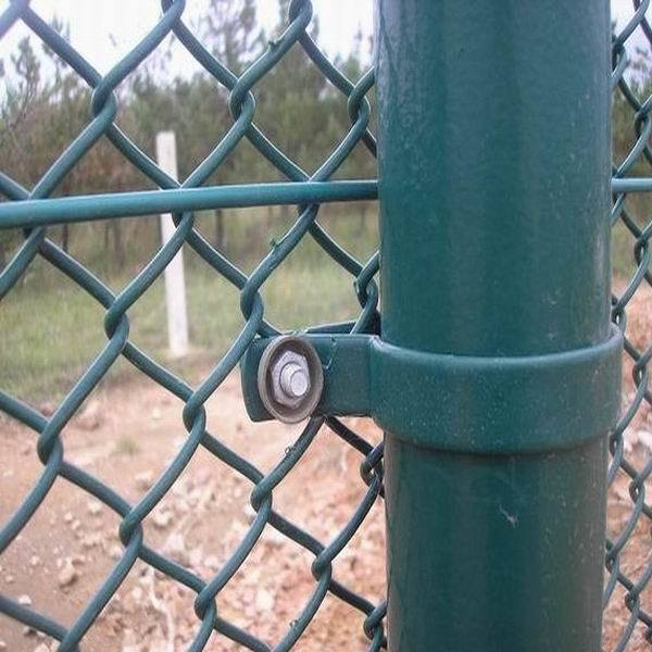 China Weave Wire Diamond Mesh Chain Link Fence Photos & Pictures ...