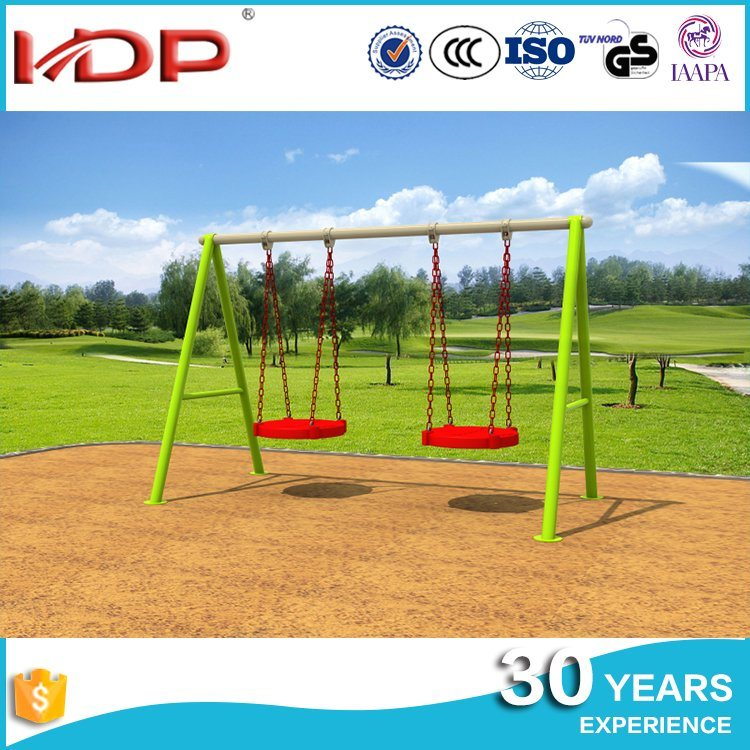 China Develop Intelligence Quality Assured Outdoor Double Swing