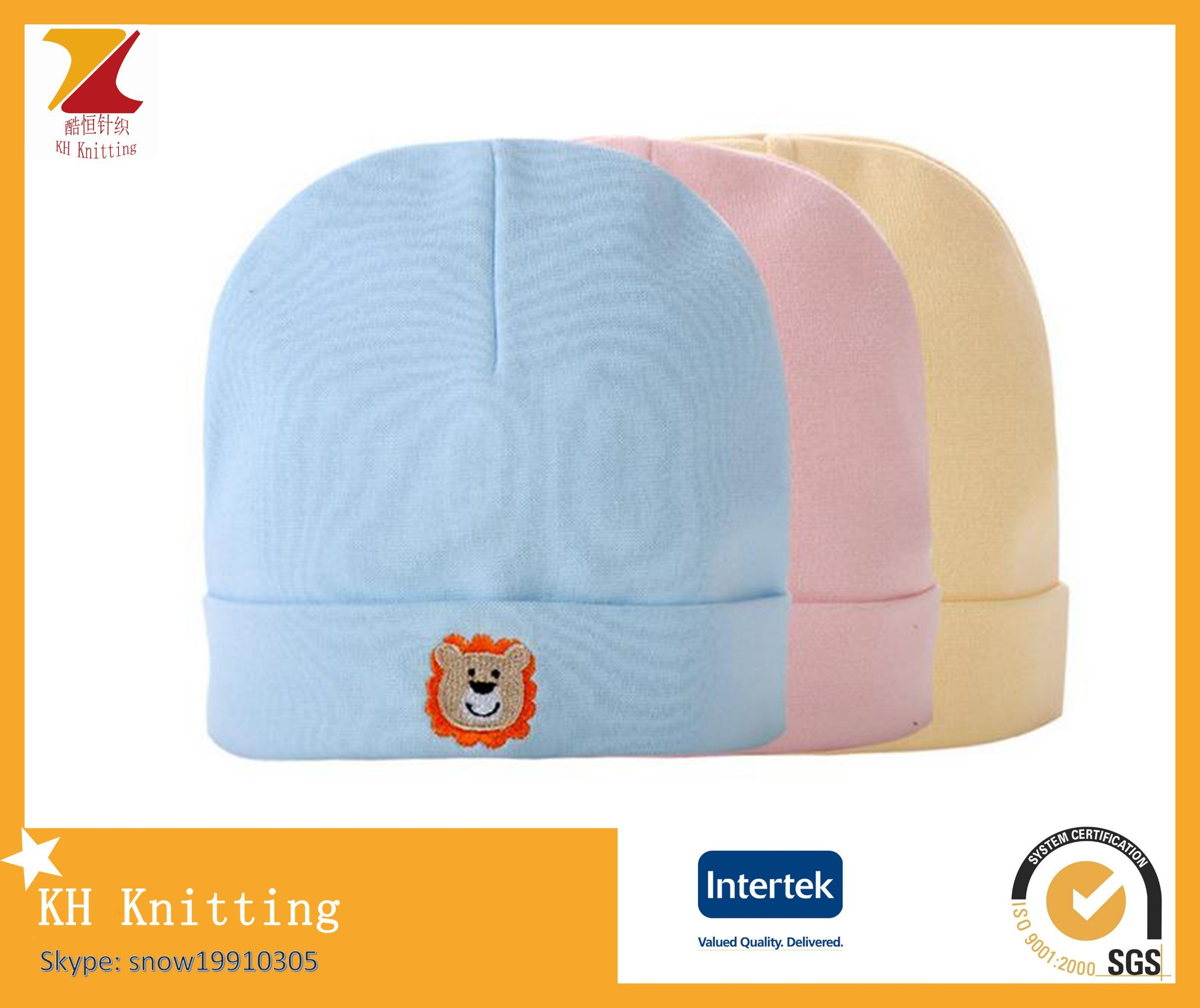 35d52f98c [Hot Item] Newborn Baby 100 % Cotton Colourful Hat