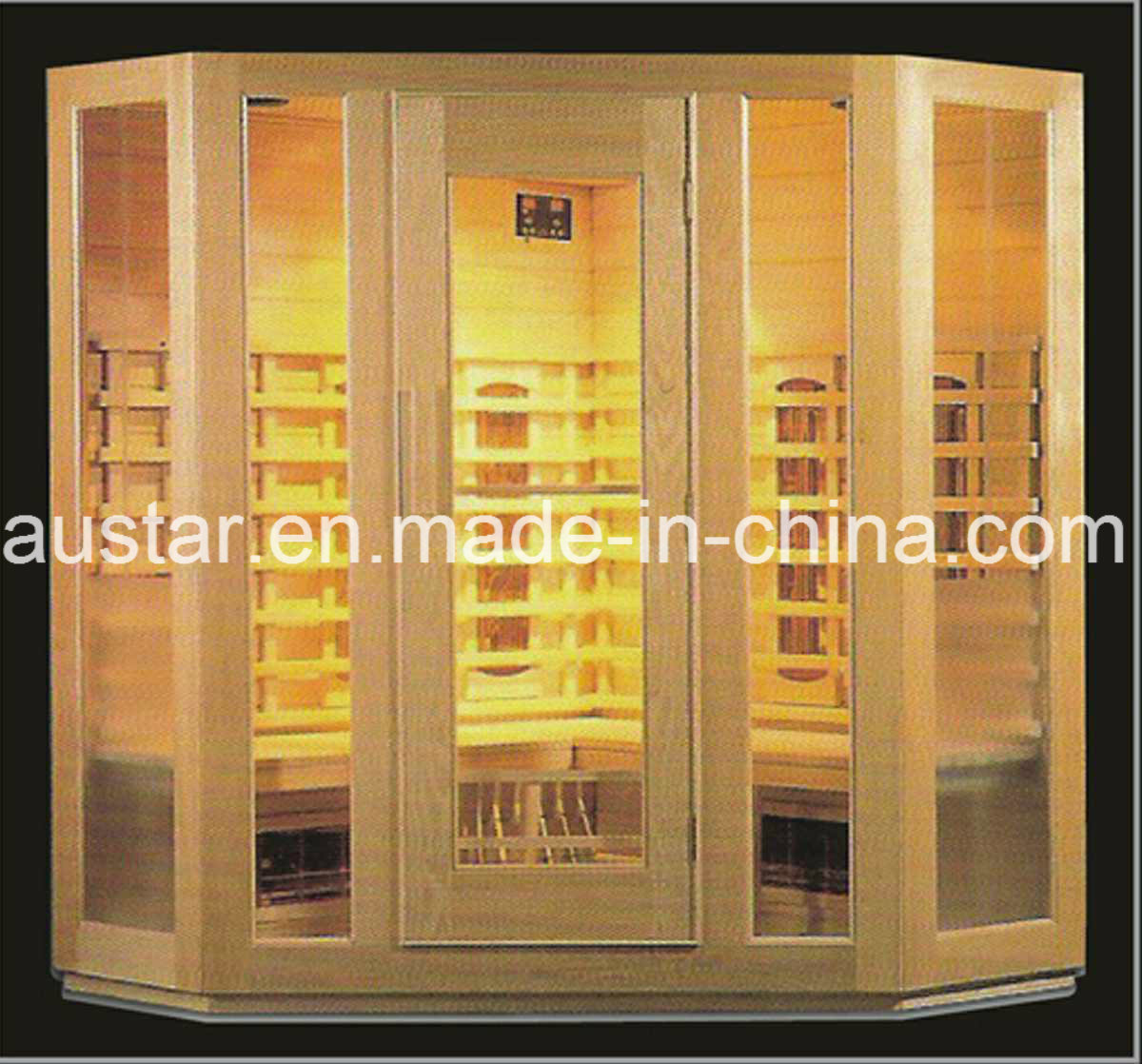 Solid Wood Infrared Sauna with Customized Size (AT-8603)