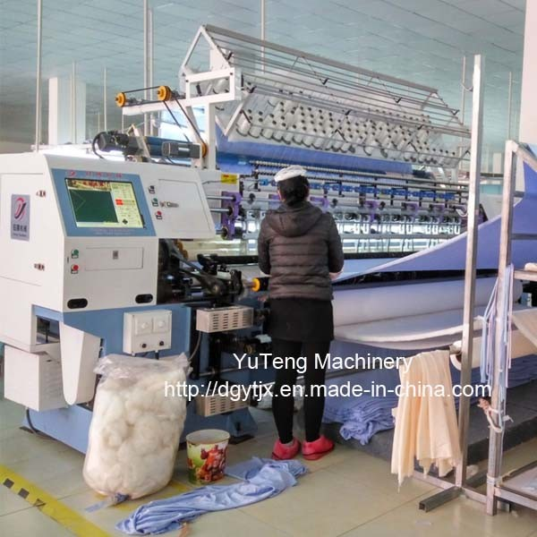 Industrial Quilting Sewing Machine for Comforter Ygb128-2-3 pictures & photos