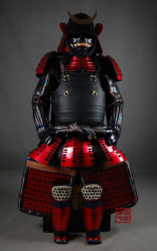 China Wearable Japanese Samurai Armor For Cosplay China Armour
