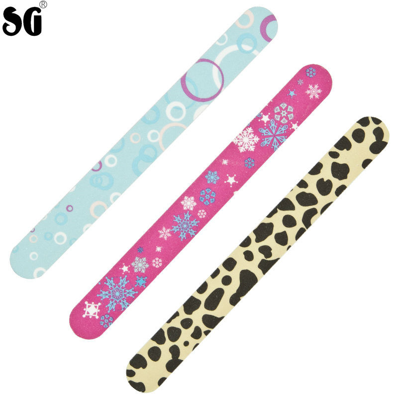 Customized Professional Flower Nail File with Various Shapes/Colors ...