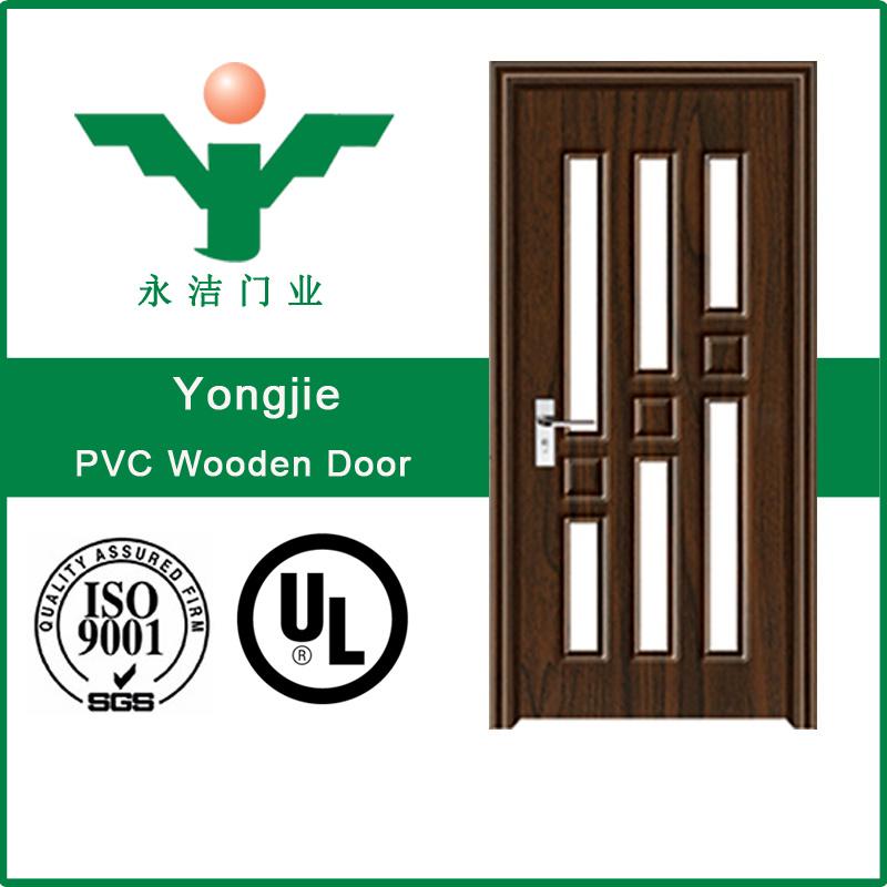 China Wholesale Interior Pvc Glass Doors For Bathroom Use China