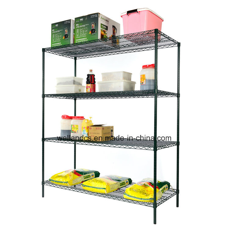 Epoxy Coated Metal Restaurant Kitchen Wire Storage Shelving pictures & photos