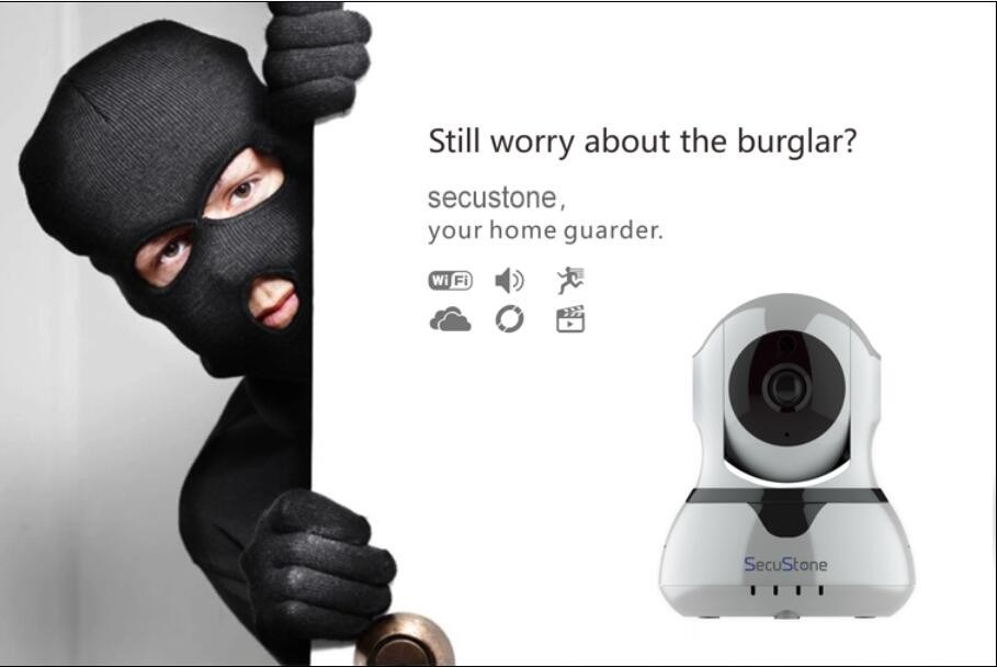WiFi Security Wireless Alarm IP Camera