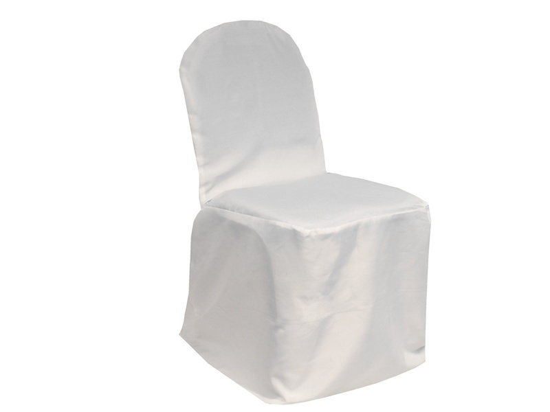 Polyester Banquet Satin Chair Cover pictures & photos