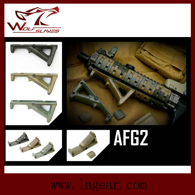Tactical Afg 2 Angled Foregrip Fore Grip for Airsoft