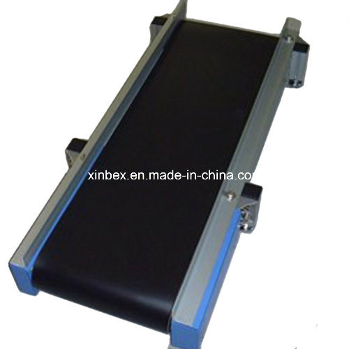PVC Black Cash Checkout Counter Supermarket Conveyor Belt pictures & photos