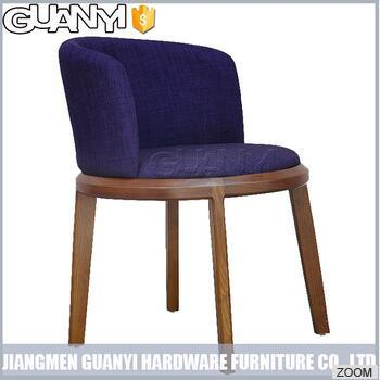 Multi Color Newest Fashion Wood Leg Dining Chair