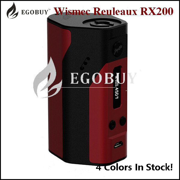 china 100 authentic wismec reuleaux rx200 mod wismec rx 200 200w tc
