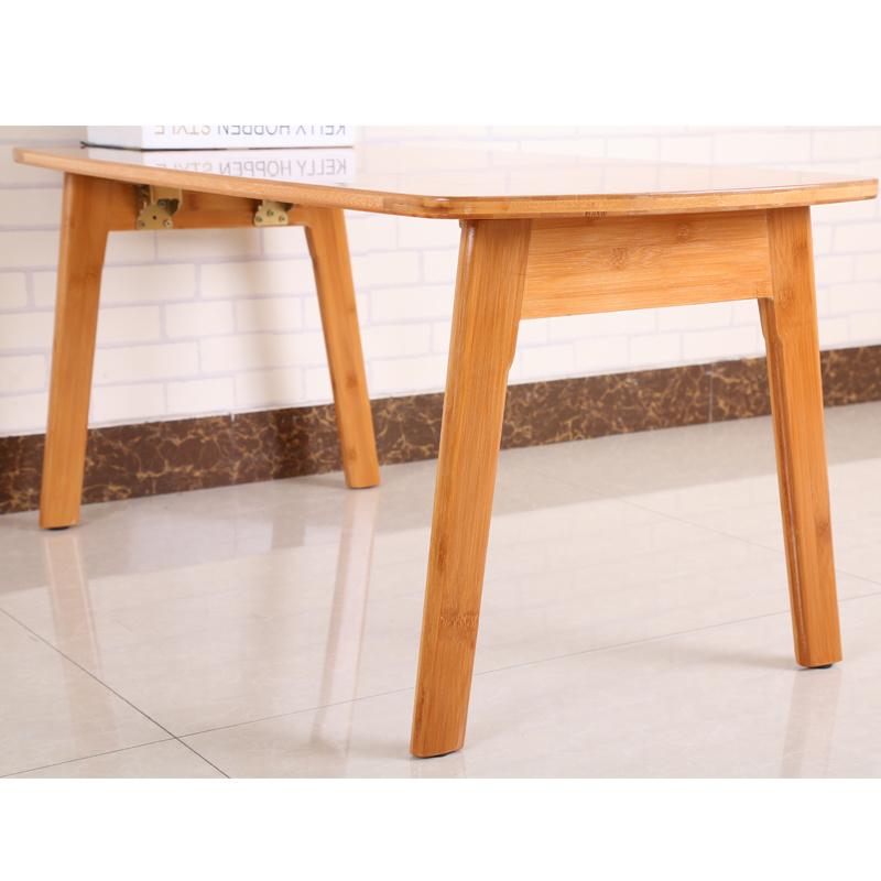 China Folding Wooden Bamboo Coffee Table Working China Folding