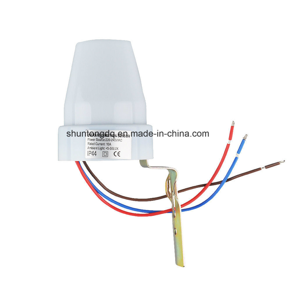 China 220v 240v Ac Outdoor Ip44 Photoelectric Sensor Switch Light Control Sensor Automatic Photocell Switch China Photocell Switch Sensor Switch