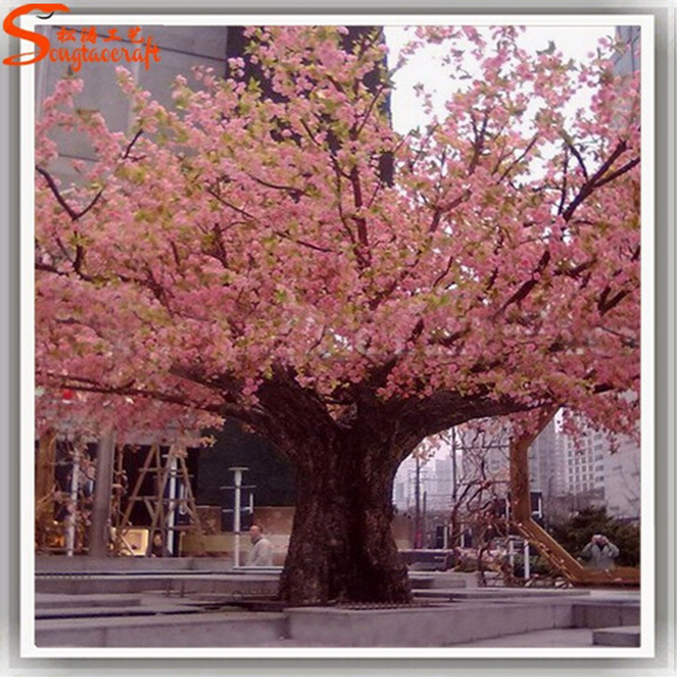 China Large Fake Artificial Cherry Blossom Tree For Decoration China Artificial Tree And Artificial Plant Price