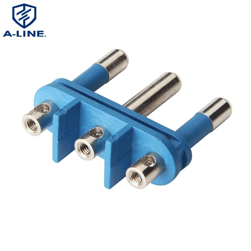[Hot Item] 3-Pin Plug Insert for Italy, with Earth Pin (big) on 3 pin transistor, 8 pin plug, 3 pin wire, 6 pin plug, 3 pin light, 3 pin usb, 3 pin switch, 3 pin fan, 5 pin plug, 3 pin resistor, 7 pin plug, 3 pin socket, 3 pin adapter, 3 pin lock, 3 pin fuse, 3 pin cable, 4 pin plug, 3 pin extension, 3 pin link, 2 pin plug,