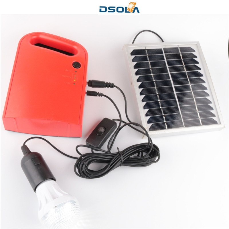 Dsola Custom Promotion Portable Monocrystalline Power Home Kit Panel Solar System pictures & photos