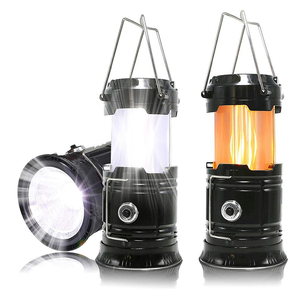 Multifunction Retractable Outdoor Lights LED Flashlight Lantern Tent Light
