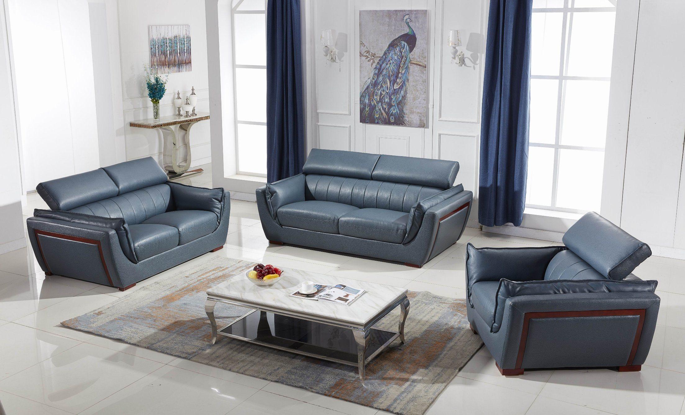 - China Genuine Leather Sofa Set 7 8 9 Seater Modern Style Sofa