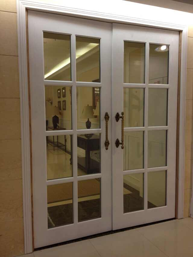 Drawing Glass Window : China modern wooden casement glass windows with grills