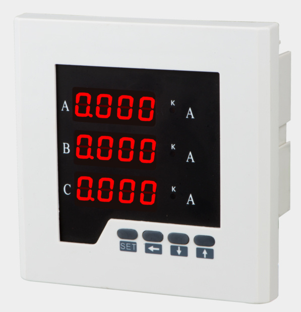 Three Phase Digital LED Display Electric Ammeter