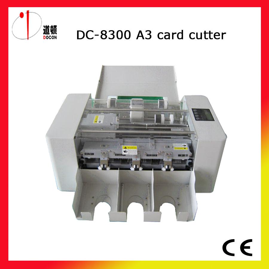China Name Card Cutting Machine A3 Size Business Card Cutter Machine ...