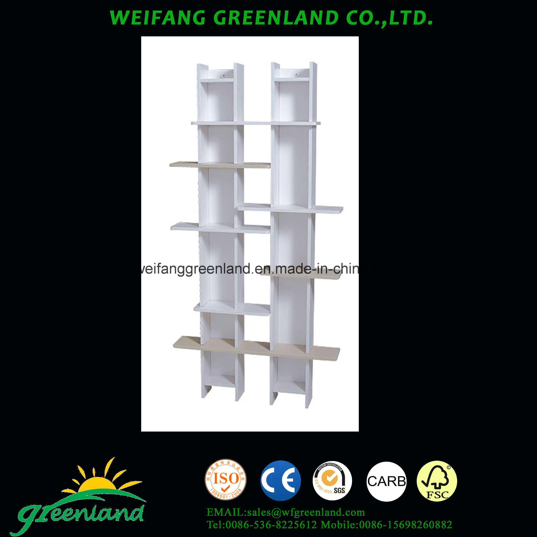 China Modern Designed Wood Panels CD Rack