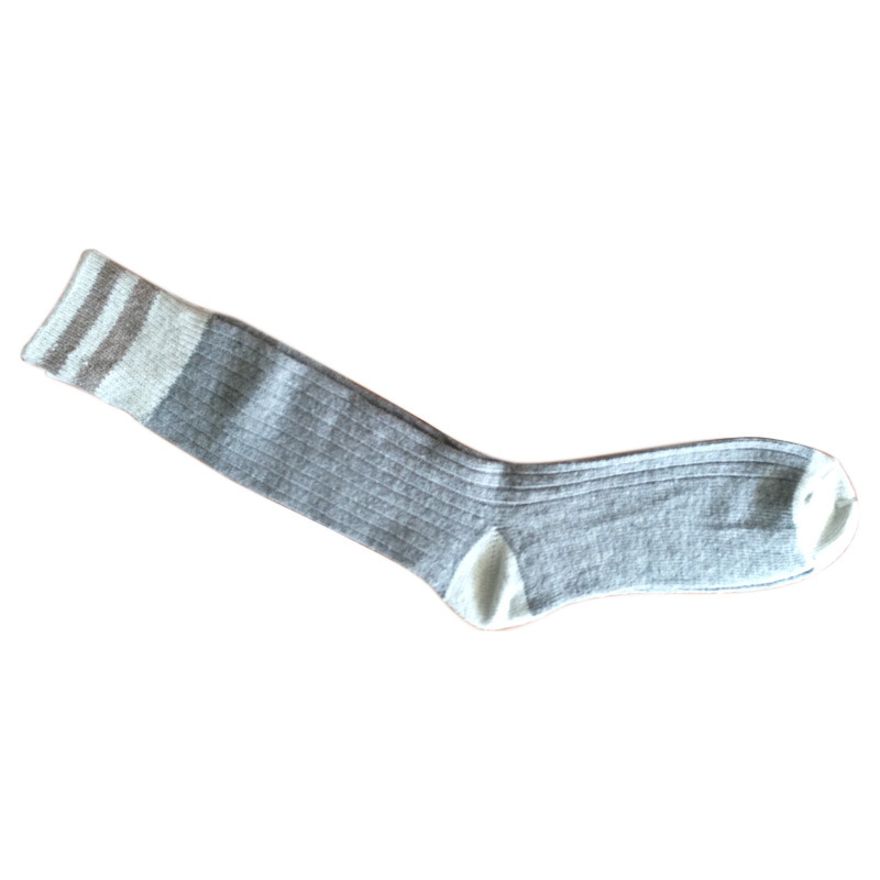 Men Women Knee High Sports Socks with Wool (wkn-02)