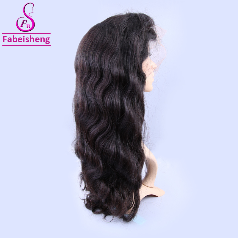 China Stock Silk Top Lace Wig Malaysian Virgin Human Hair Wigs Body