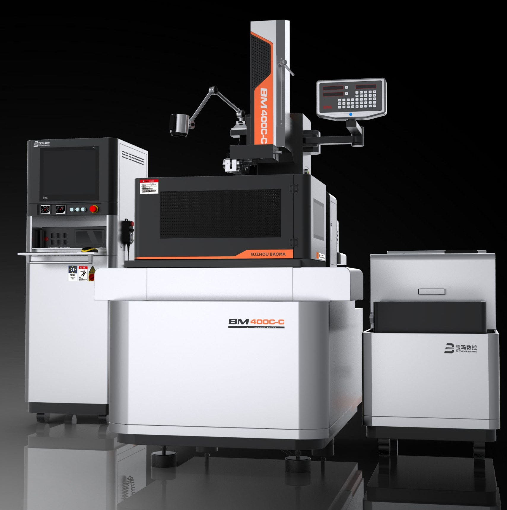 China CNC Wire Cut EDM New Designed Machine! Max Speed 250mm2/Min ...