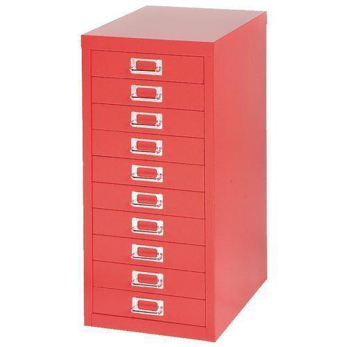 China Office Furniture Red Colormini 10, Mini File Cabinet
