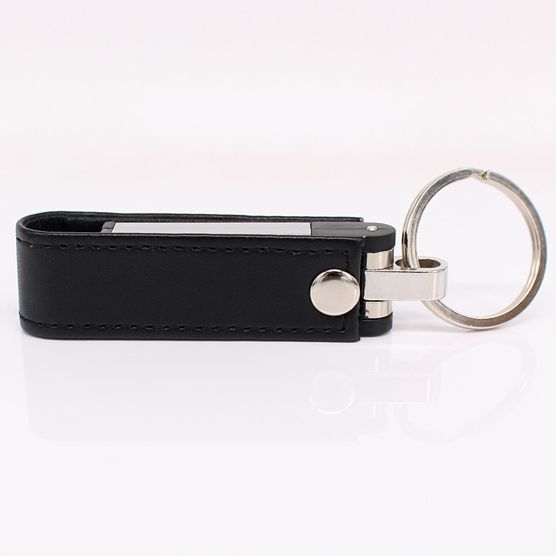 Leather USB Key Chain Flash Memory USB Flash Drive pictures & photos