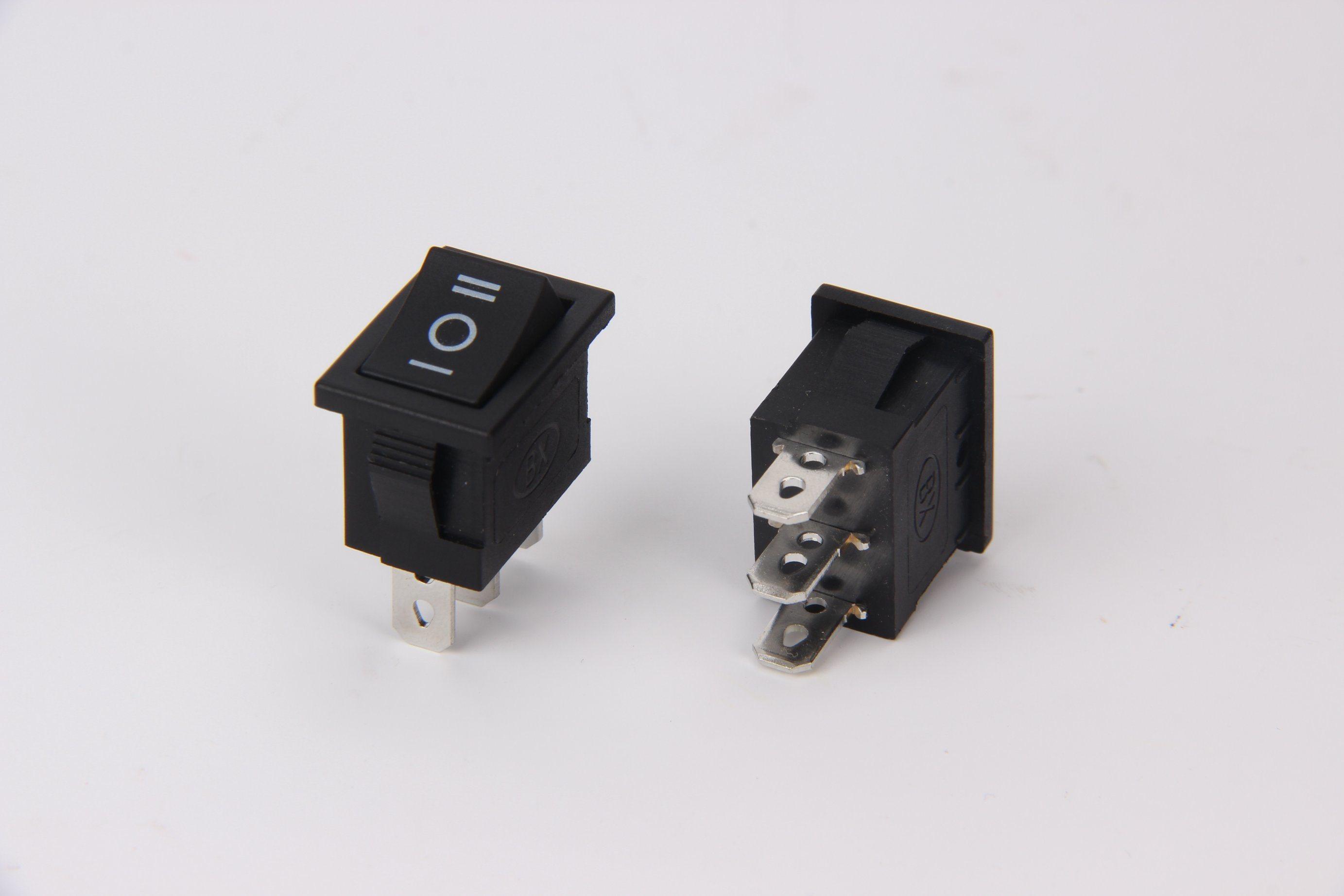China 21*15mm Small Rocker Switch Spst Dpst Single Narrow Switch ...