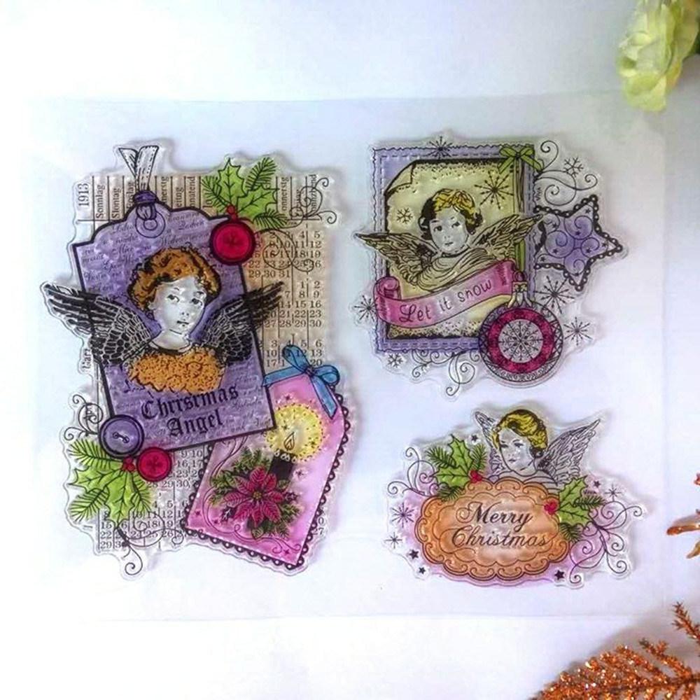 China DIY Scrapbooking Decor Card Making Crafts Supplies Rubber ...