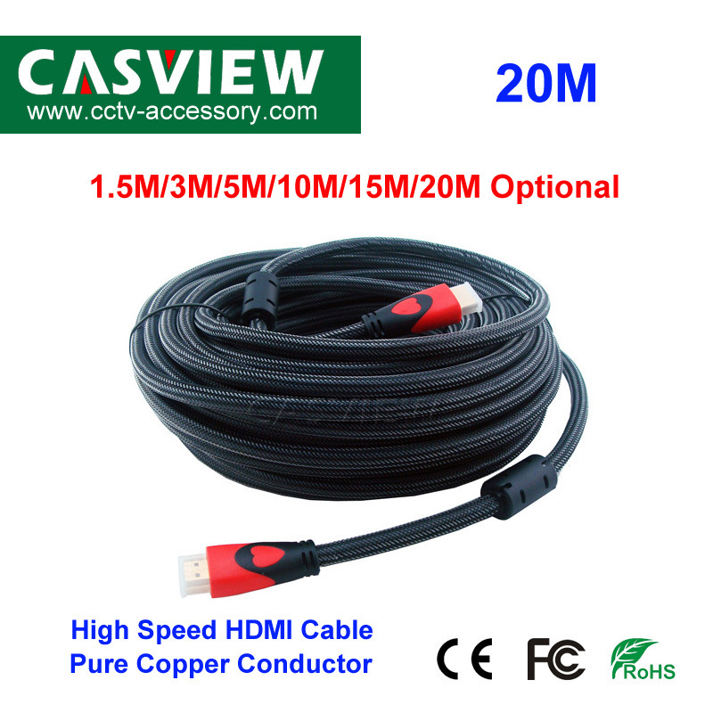 20M V1.4 GOLD HDMI CABLE