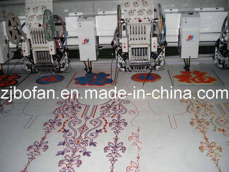 OEM 3 in 1 Mixed (Flat, Sequin&Chenille) Embroidery Machine