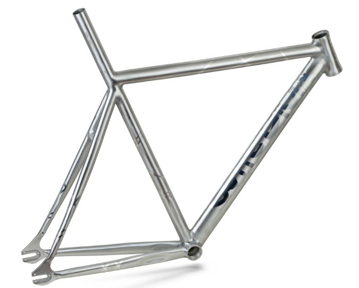 China Aluminum Fixed Gear Frame/ Road Bike with Carbon Fork - China ...