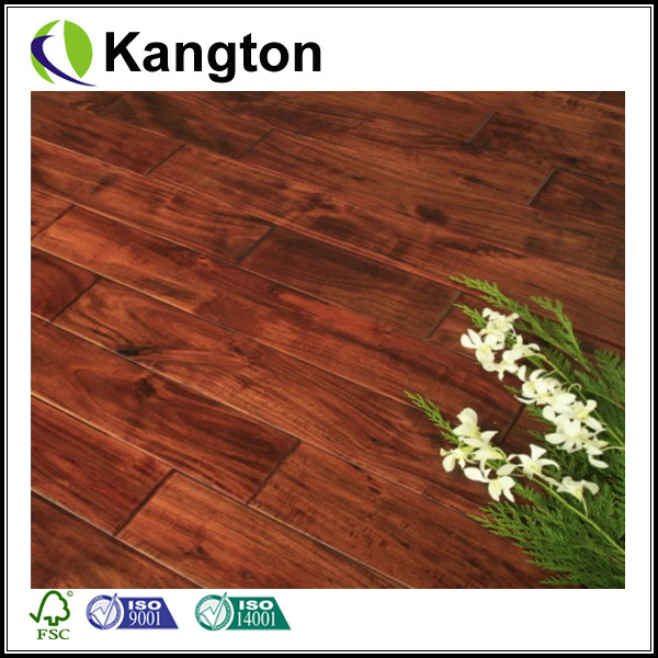 China Small Leaf Acacia Hardwood Flooring (Engineered