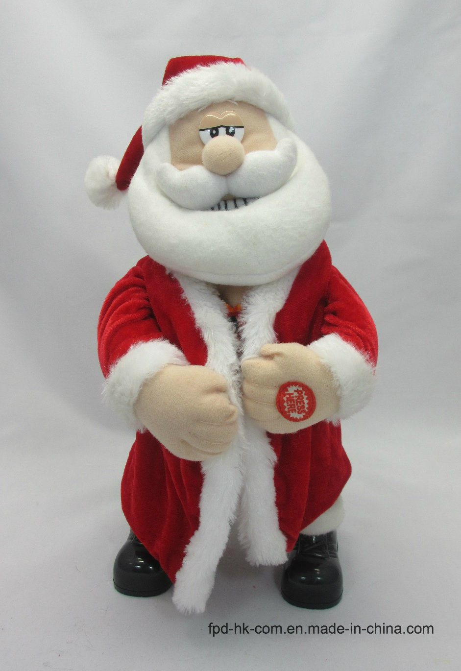 Christmas Valentine Halloween Animation Plush Toy Dancing Santa /Claus pictures & photos