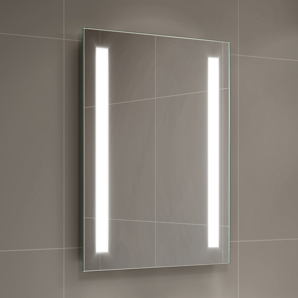 China Touch Switch Smart Light Up Bathroom Mirrors Salon Lighted Led Mirror China Led Mirror Led Bathroorm Mirror
