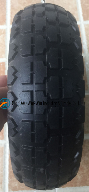 3.00-4 PU Solid Wheel for Wheelbarrow pictures & photos