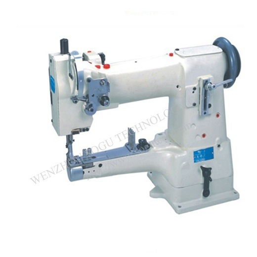 China Automatic Cylinder Bed Unison Feed Heavy Duty Industrial Best Binding Sewing Machine