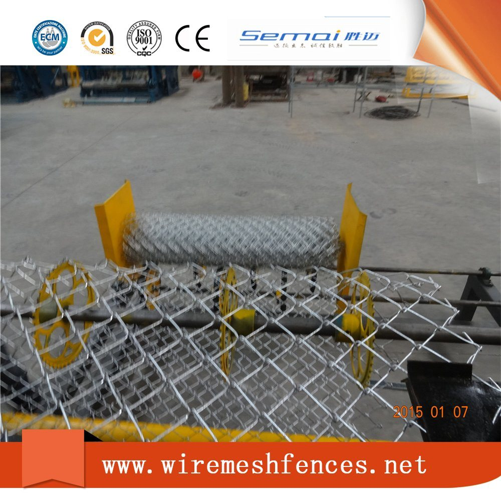 China Fully Automatic Double Wire Twist Chain Link Mesh Fence ...