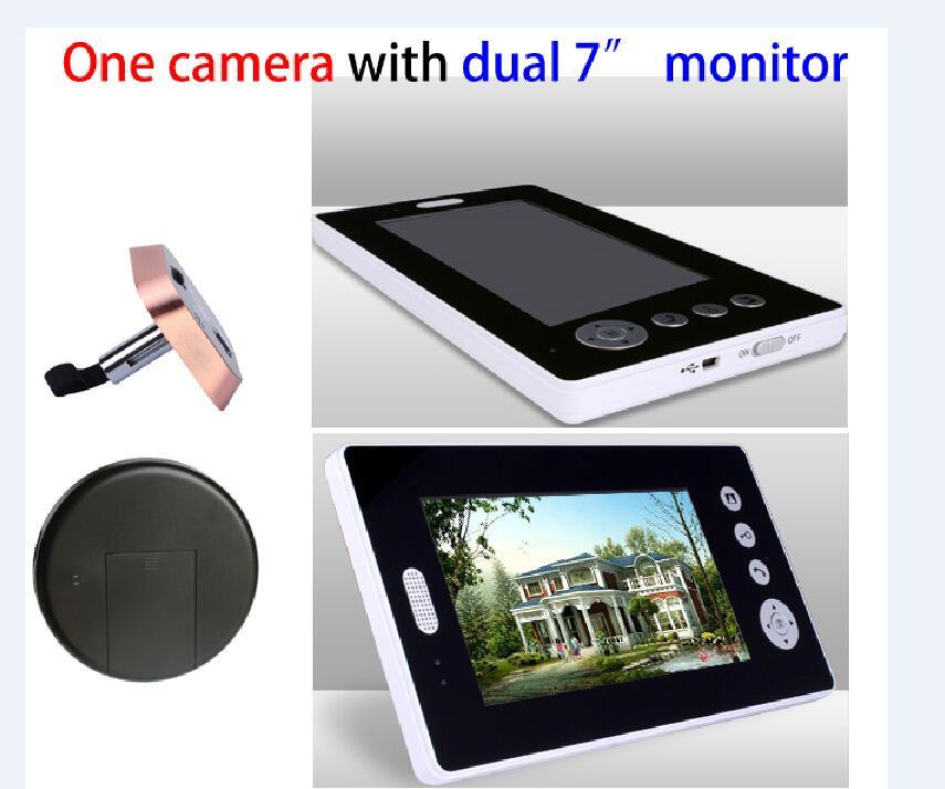 7 Inch LCD Monitor Wireless Doorbell
