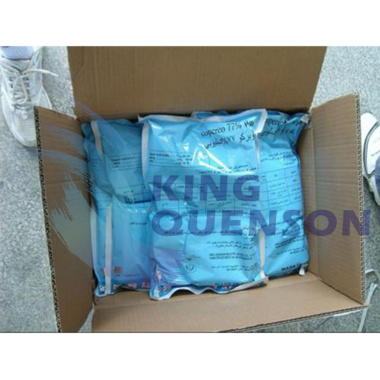 King Quenson Fungicide Agrochemical Copper Oxychloride 90% Tc (70% WP, 30% SC, 50% WP)