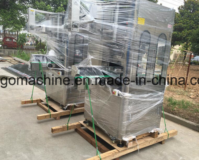 Good Price Automatic Round Bottle Shrink Sleeve Labeling Machine pictures & photos