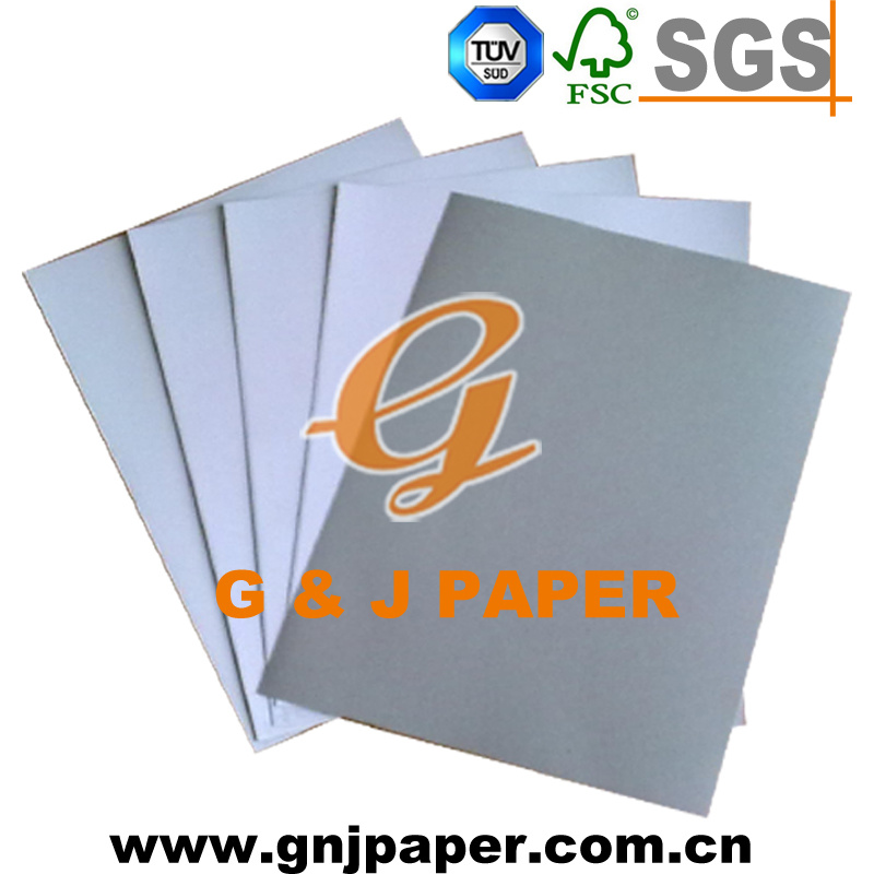 Kraft Paper/One Side Coated Duplex Board with Grey Back pictures & photos