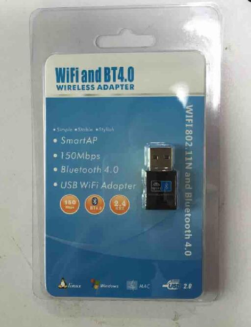 2 in 1 WiFi +Bt 4.0 WiFi Network Card Bluetooth Adapter Dongle pictures & photos