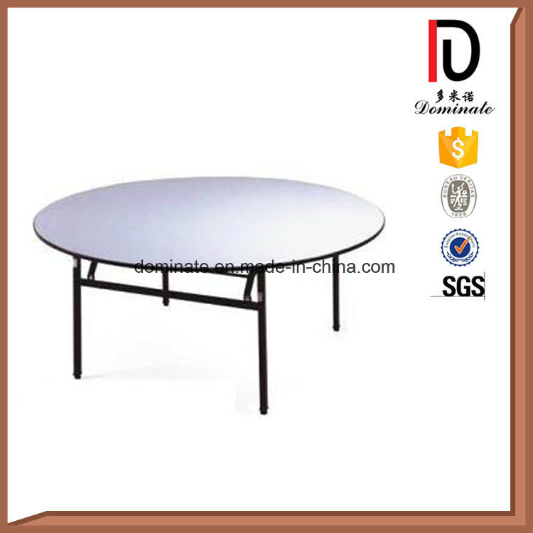 18mm Plywood Folding Wedding Dining Hotel Restaurant Banquet Table