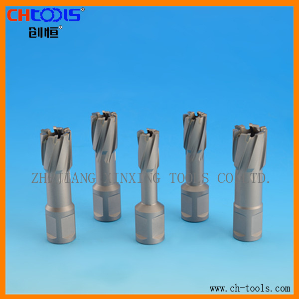 Carbide Tipped Core Drill with Weldon Shank Version P pictures & photos